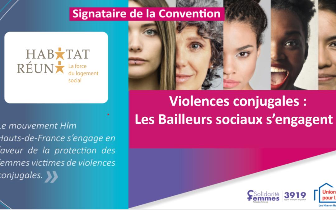 Violences conjugales : Les bailleurs sociaux s'engagent !